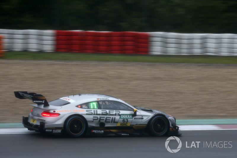 4. Maro Engel, Mercedes-AMG Team HWA, Mercedes-AMG C63 DTM