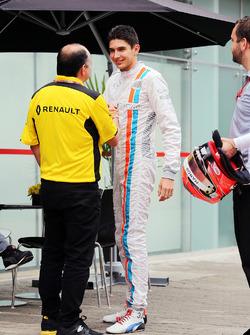Frederic Vasseur, Renault Sport F1 Team con Esteban Ocon, Manor Racing