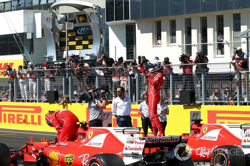 Володар поул-позиції Себастьян Феттель, Ferrari SF70-H