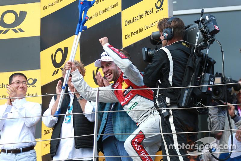 Подіум: Майк Роккенфеллер, Audi Sport Team Phoenix, Audi RS 5 DTM
