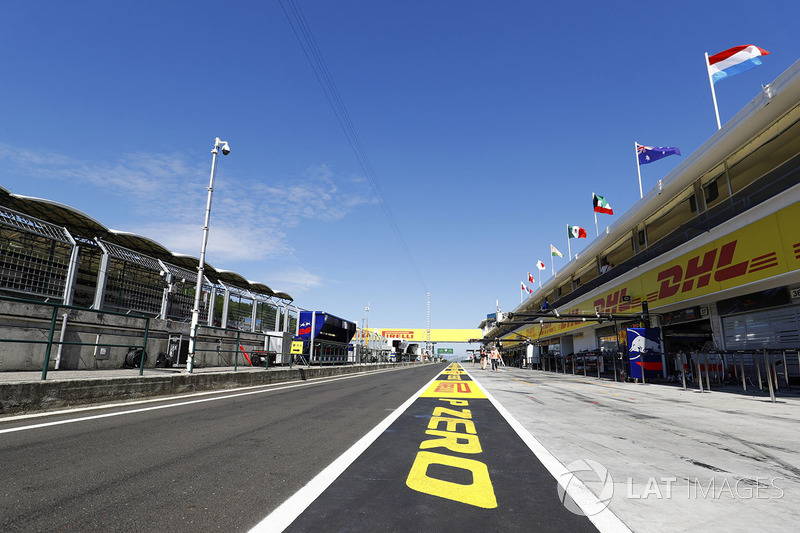 Pirelli en Hungaroring