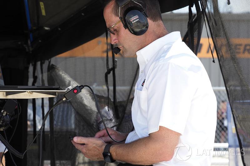 Tony Kanaan, Chip Ganassi Racing Honda, Barry Wanser