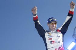 Winner Jari-Matti Latvala, Toyota Racing