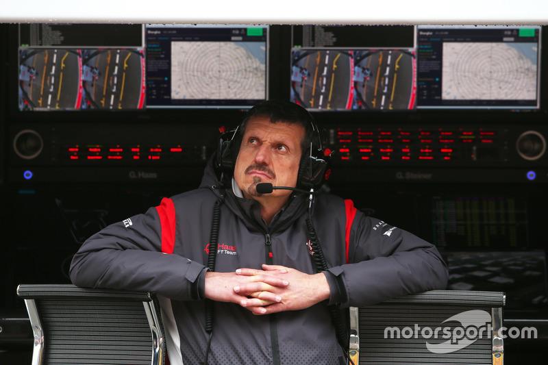 Guenther Steiner, jefe de equipo de Haas F1 Team