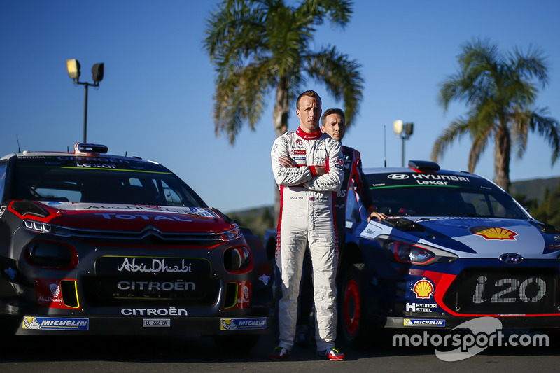 Kris Meeke, Citroën World Rally Team, Nicolas Gilsoul, Hyundai Motorsport