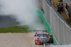 Simona De Silvestro, Nissan Motorsports, crash