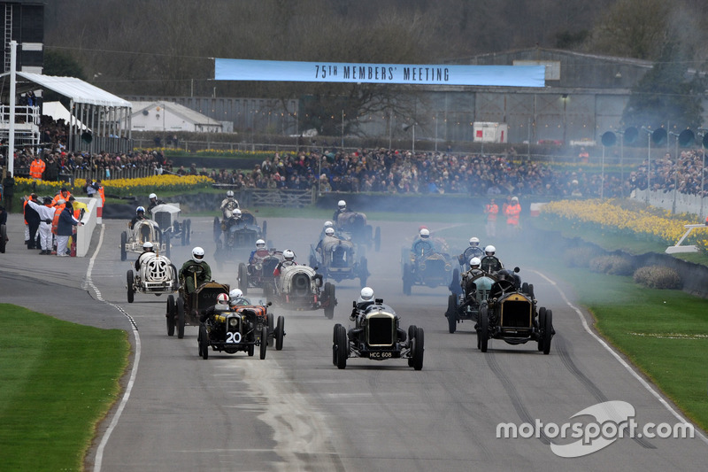S F Edge Trophy, Start, Sielecki Delage