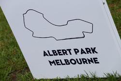 Знак в Альберт-Парке