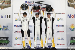 GTLM winner: #3 Corvette Racing Chevrolet Corvette C7.R: Antonio Garcia, Jan Magnussen, Mike Rockenfeller
