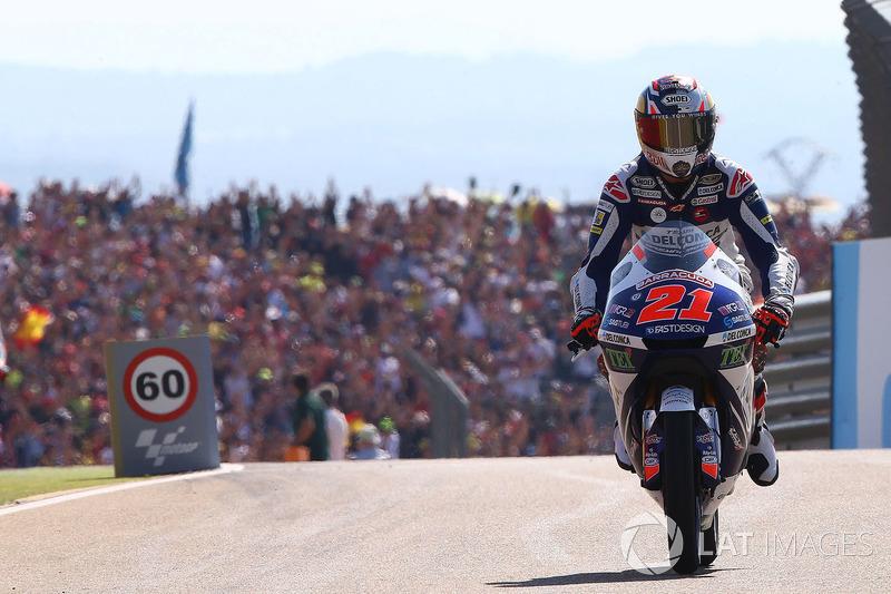 Segundo, Fabio Di Giannantonio, Del Conca Gresini Racing Moto3