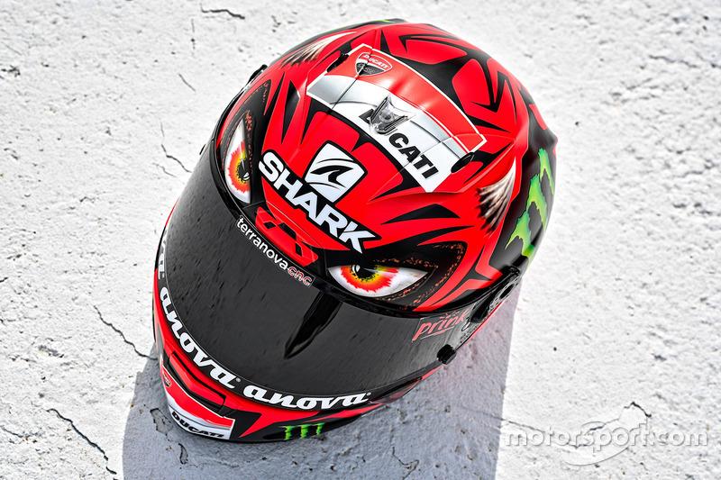 Jorge Lorenzo, Ducati Team capacete especial