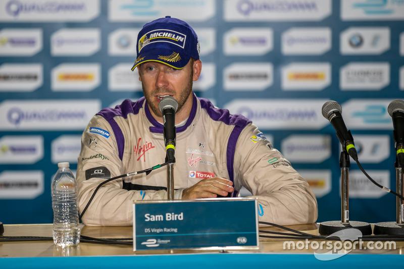 Conferencia de prensa: ganador Sam Bird, DS Virgin Racing