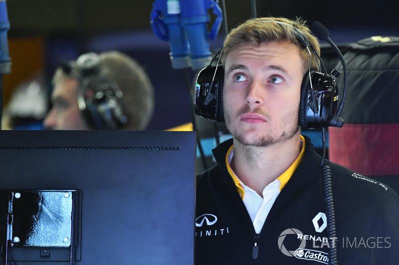 Sergey Sirotkin, Renault Sport F1 reserve