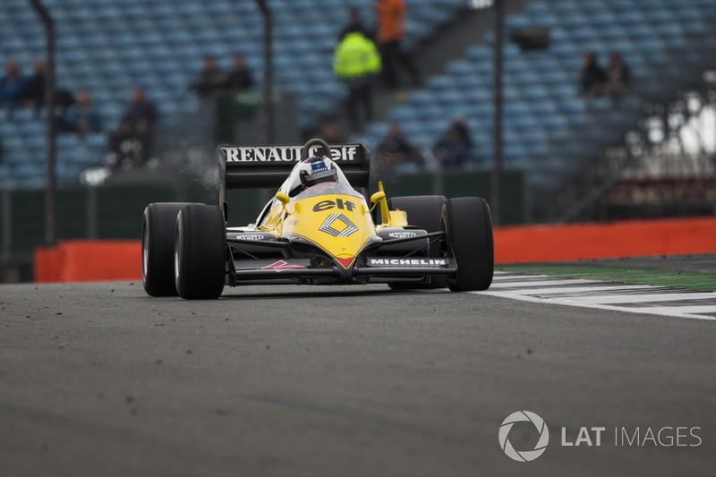 Франк Монтані,  Renault Sport F1 Team RE40