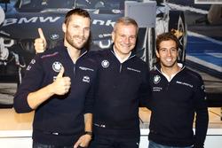 Martin Tomczyk, BMW Team Schnitzer, BMW M4 DTM; Jens Marquardt, BMW Motorsport Director; António Félix da Costa, BMW Team Schnitzer, BMW M4 DTM