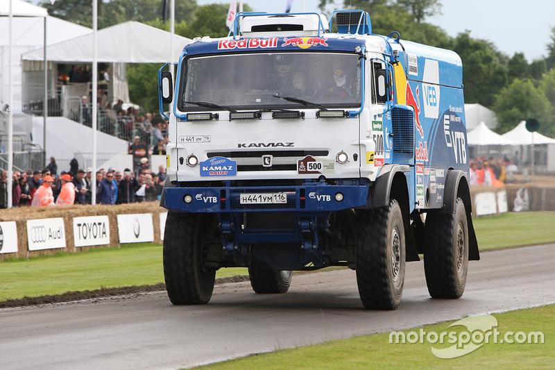 Kamaz T4 Dakar Truck