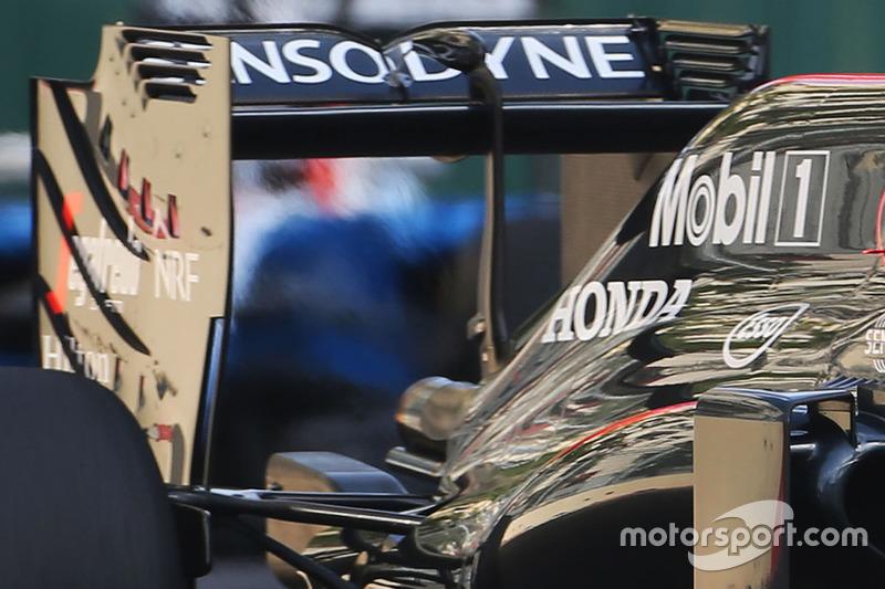 McLaren: Heckflügel