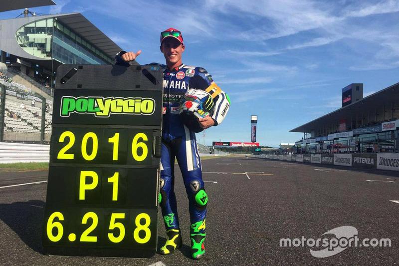 Polesitter: Pol Espargaro für #21 Yamaha