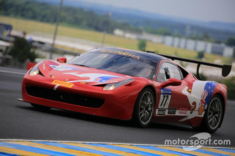 #77 Motor Service Ferrari 458 Challenge Evo: Steve Wyatt