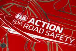 FIA Action for Road Safety decal on the #12 Rebellion Racing Rebellion R-One AER