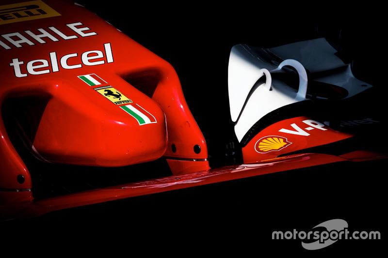 Ferrari SF16-H, ala anteriore