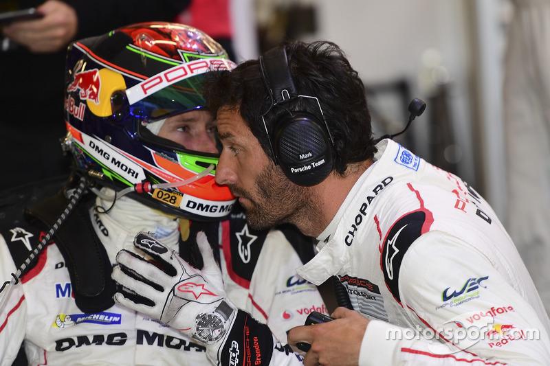 Brendon Hartley, Mark Webber, Porsche Team