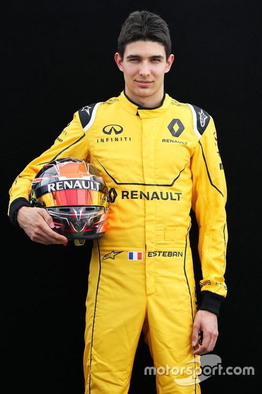 Esteban Ocon, Renault Sport F1 Team testrijder