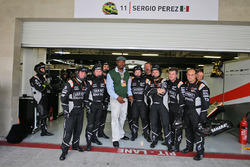 Lennox Lewis, Former Boxer with the Sahara Force India F1 Team