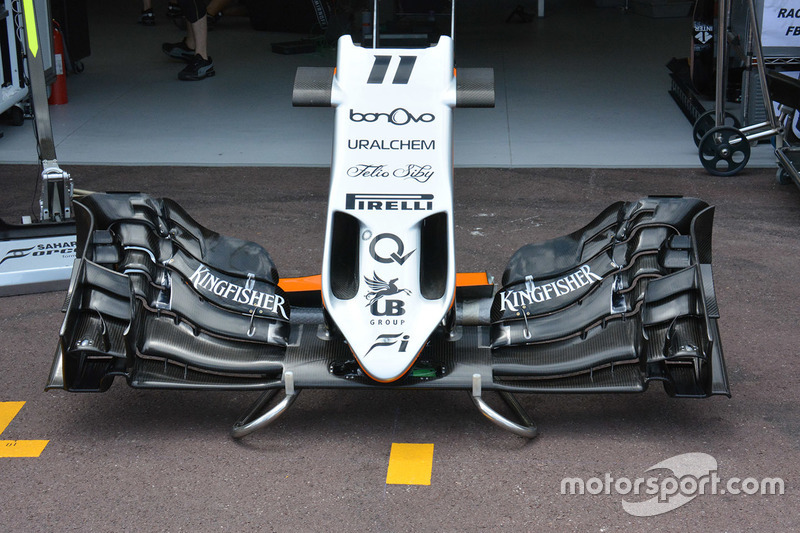Force India VJM09 front wing