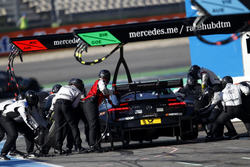 Pit stop Daniel Juncadella, Mercedes-AMG Team HWA, Mercedes-AMG C63 DTM.