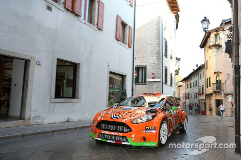 Simone Campedelli, Danilo Fappani, Ford Fiesta GPL R5, Orange1 Racing