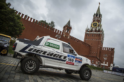 #169 Ford: Pedro de Uriarte y Jose Eduardo Vanzzini, Dakar Team