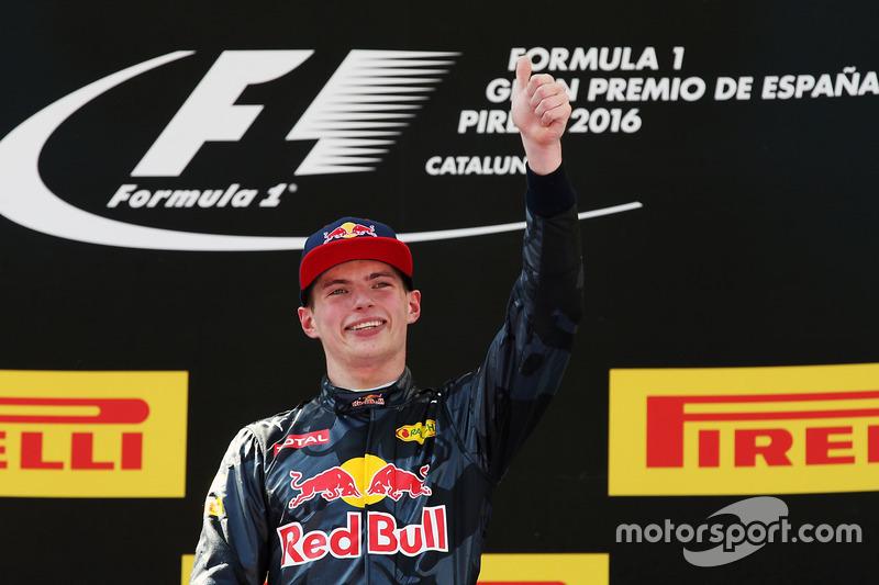 #1: Max Verstappen, GP de España 2016