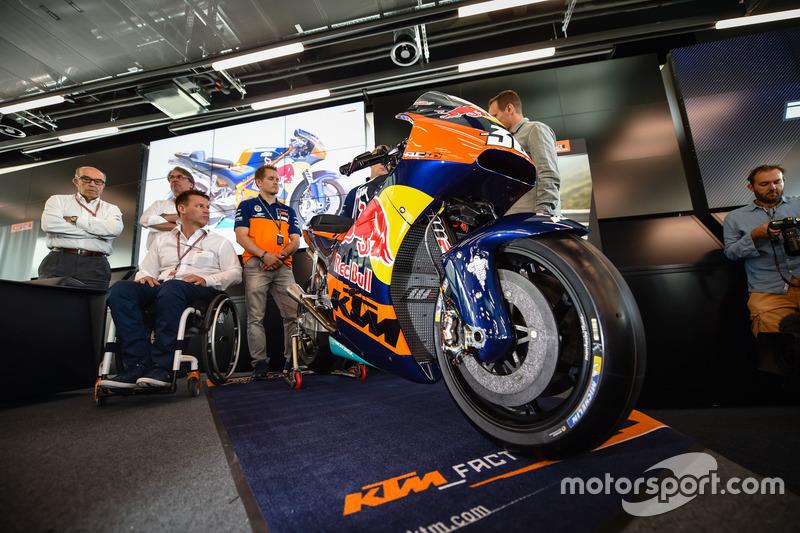 Das MotoGP-Bike von KTM
