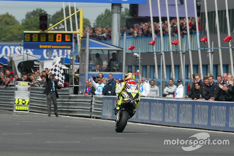 3ª: 2002 Valentino Rossi (Repsol Honda - MotoGP)