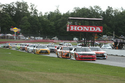 Start: Sam Hornish Jr., Richard Childress Racing Chevrolet leads