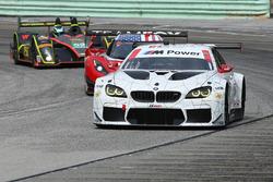 #100 BMW Team RLL BMW M6 GTLM: Lucas Luhr, John Edwards