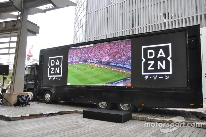 DAZNトラックお披露目会