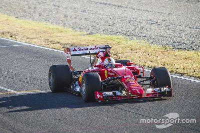 Pirelli Ferrari September testing