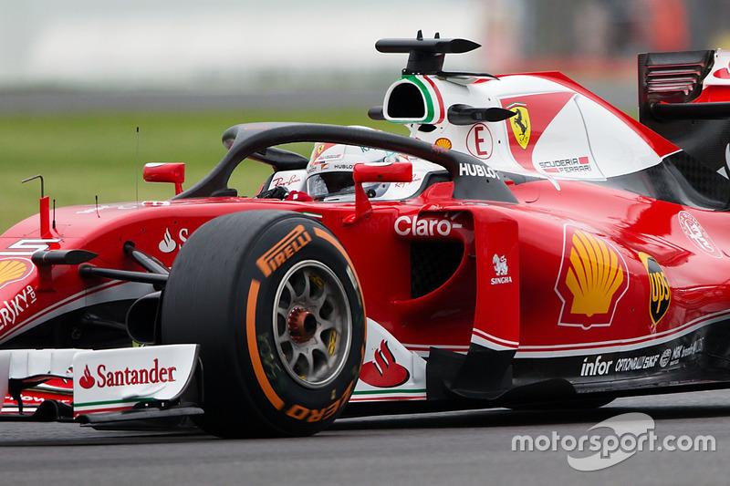 Sebastian Vettel, Ferrari SF16-H Halo 2 ile pistte