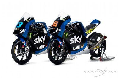 Sky Racing Team VR46 unveil