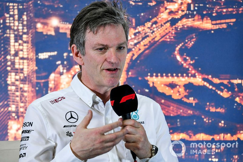 James Allison, Technical Director, Mercedes AMG in the press conference