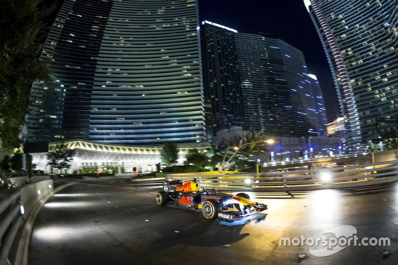Daniel Ricciardo, Red Bull Racing in Las Vegas