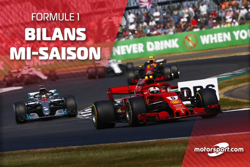 Bilans mi-saison F1 2018