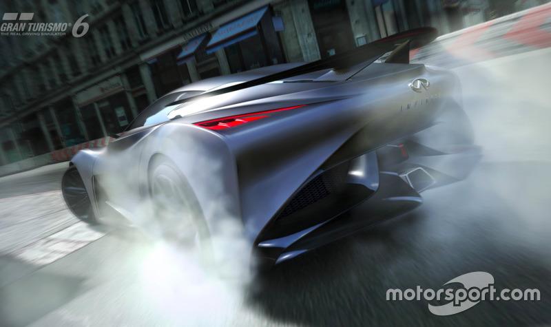 INFINITI CONCEPT Vision Gran Turismo (diciembre 2014)