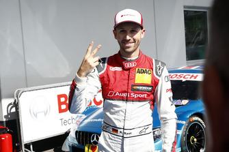 Pole position for René Rast, Audi Sport Team Rosberg