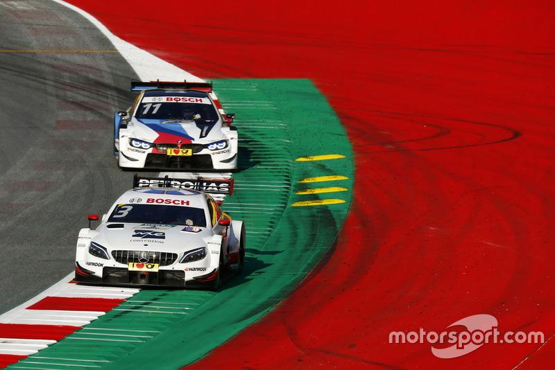 Paul Di Resta, Mercedes-AMG Team HWA, Mercedes-AMG C63 DTM, Marco Wittmann, BMW Team RMG, BMW M4 DTM