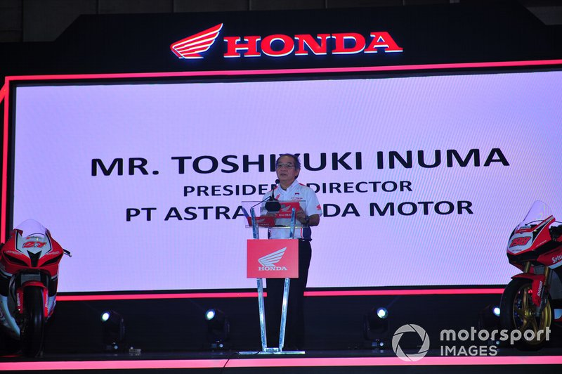 Toshiyuki Inuma, Presiden Direktur PT Astra Honda Motor