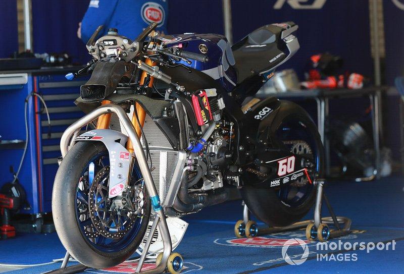 La moto di Michael van der Mark, Pata Yamaha