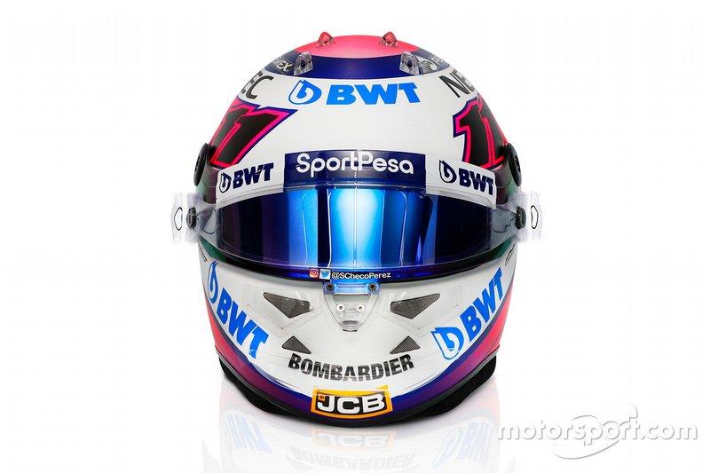 Новый шлем Серхио Переса